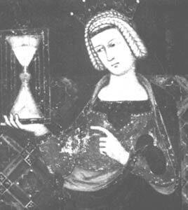 Fresco-Sanduhr