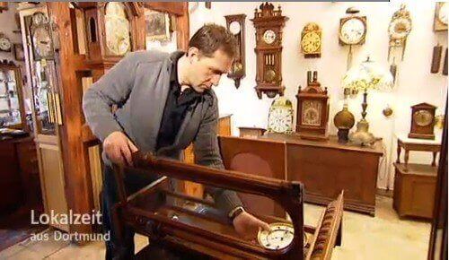 Lokalzeit Dortmund bei Antik Uhren Hendriks