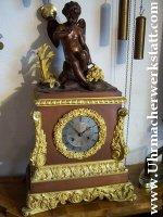 Pendule Bronze feuervergoldet