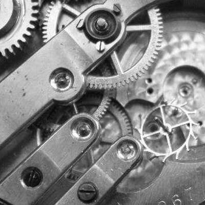 Uhrwerk Taschenuhr Reparatur