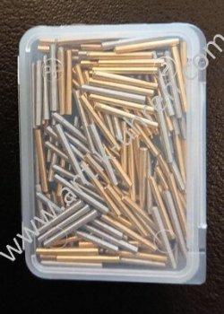 Vorsteckstifte Messing-Stahl
